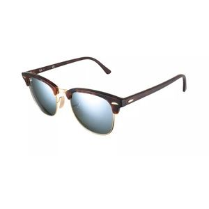 Rayban RB 3016 Clubmaster - Matte / Silver mirror